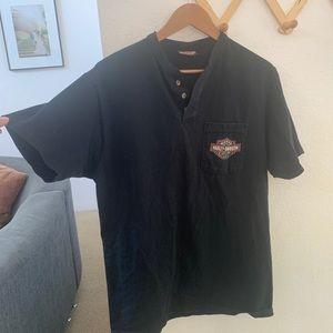 Harley Davidson Henley T-shirt